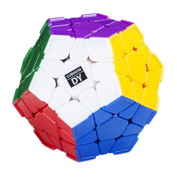 Cubikon-Dayan Megaminx - stickerlos mit extra Grip