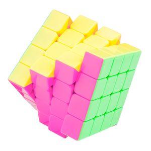 Speedcube 4x4 Cubikon-Moyu Aosu - stickerlos - mit pink