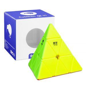 Zauberwürfel - Cubikon-Qiyi Pyraminx - stickerlos