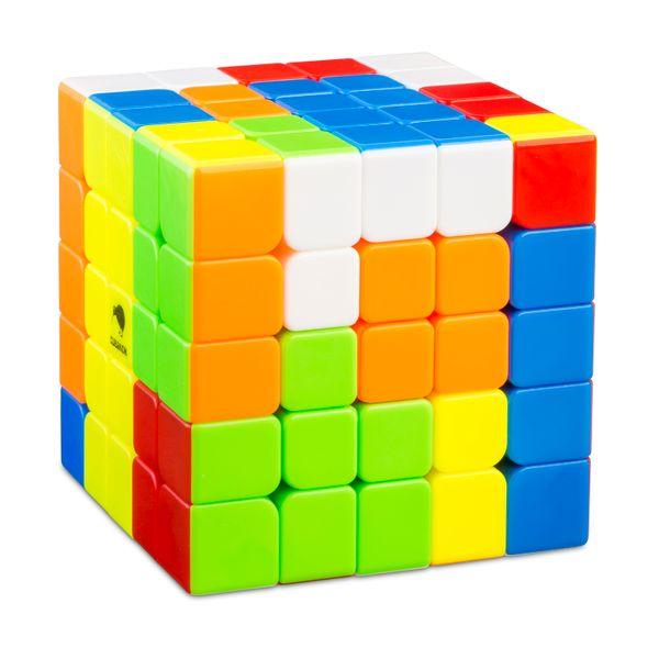Zauberwürfel - 5x5 Speed Cube Wushuang - stickerlos - Cubikon-Qiyi