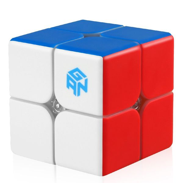 2x2 Speed Cube GAN249 V2 M (Magnition) - Stickerlos