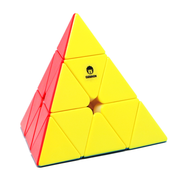 Speed Pyraminx Cheeky Sheep V2 - stickerlos