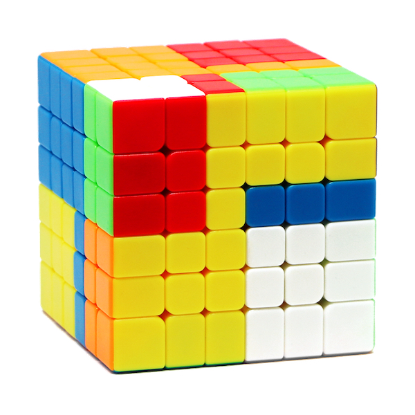Speed Cube 6x6 - Moyu MF6 - stickerlos