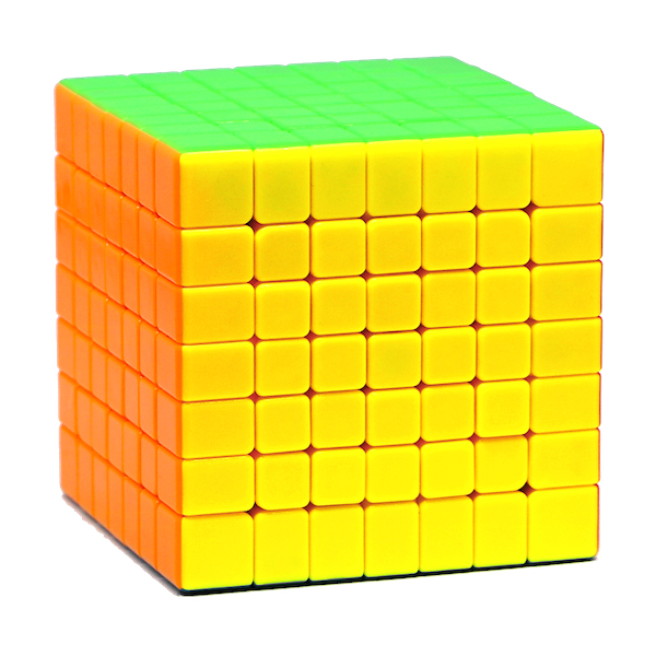 Speed Cube 7x7 - Moyu MF7S - stickerlos