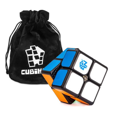 2x2 Speed Cube GAN249 V2 M (Magnition) - Schwarz