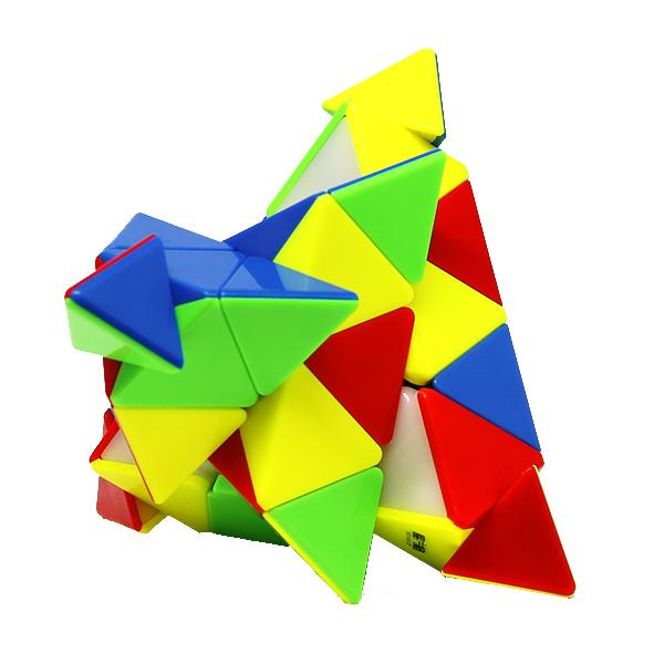 Zauberwürfel - Cubikon-Qiyi Master Pyraminx 4x4 - stickerlos