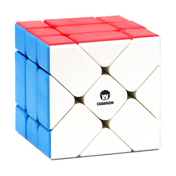Fisher Cube Zauberwürfel Cheeky Sheep - stickerlos