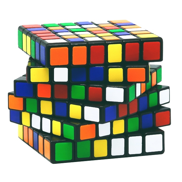 Speed Cube Ultimate 6x6 - schwarz