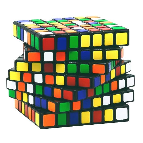 Speed Cube Ultimate 7x7 - schwarz
