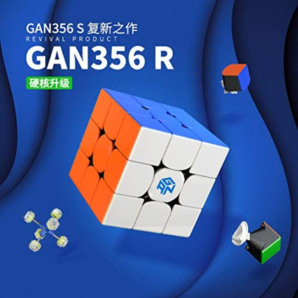 3x3 Speed Cube GAN356 R - Stickerlos