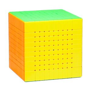 Speed Cube 10x10 - Moyu MFJS Meilong 10x10 - stickerlos