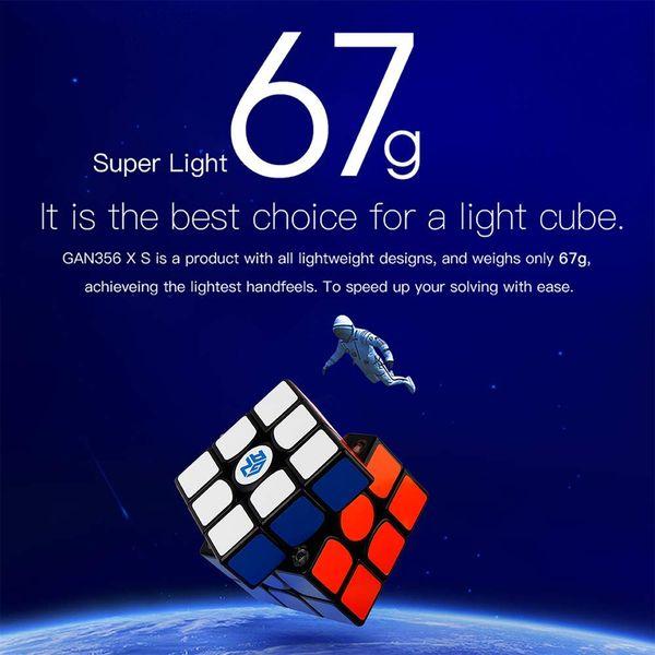 3x3 Speed Cube GAN356 XS - Schwarz