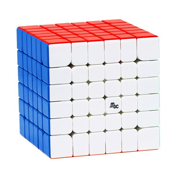6x6 Speed Cube YJ MGC 6x6 M - Stickerlos