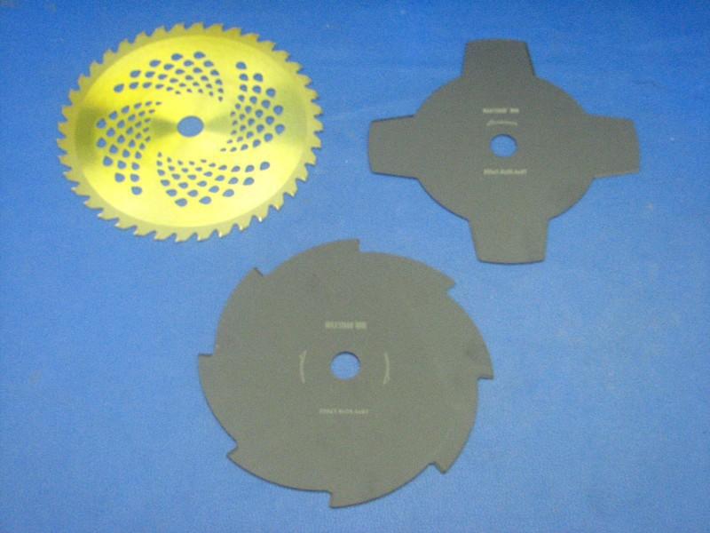 Messerset incl Hartmellamesser für Rotfuchs MFT52 Motorsense