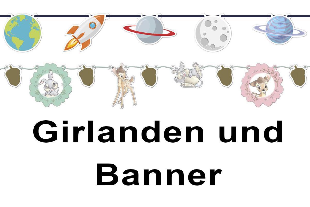 Girlanden/Banner