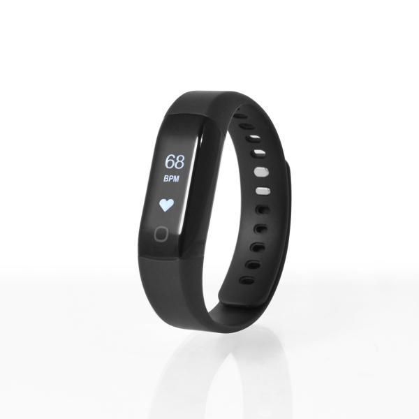 Sharon Aktivitäts- und Schlaftracker mit instant Herzfrequenzmessung, Schrittzähler, Uhrzeitanzeige, Weckfunktion