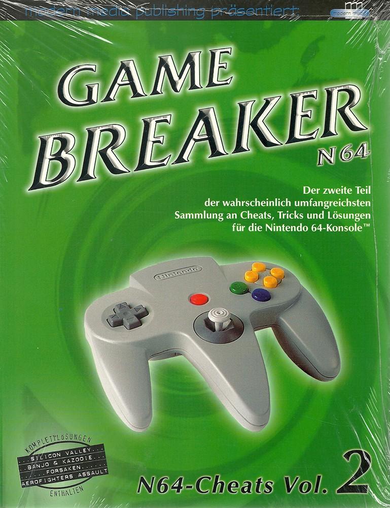 Game Breaker N64-Cheats Vol. 2
