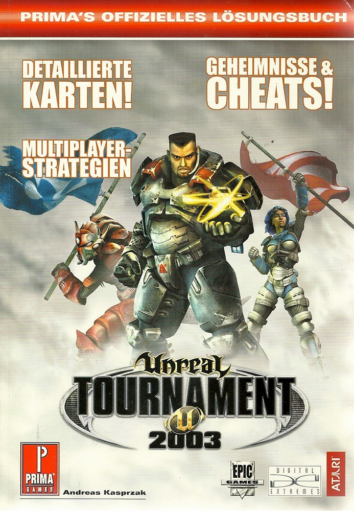 Unreal Tournament 2003 Lösungsbuch