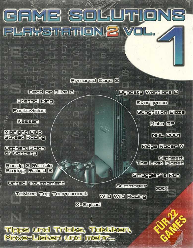 Game Solutions PS2 Vol. 1