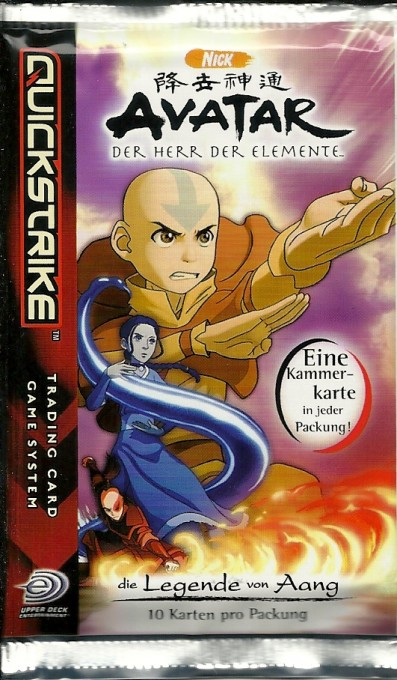AVATAR - Die Legende von Aang Booster, deutsch