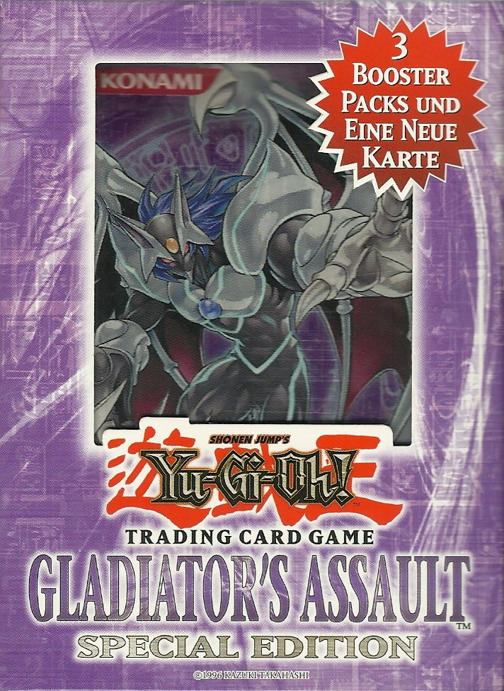 Yu-Gi-Oh! Gladiators Assault Special Edition - deutsch