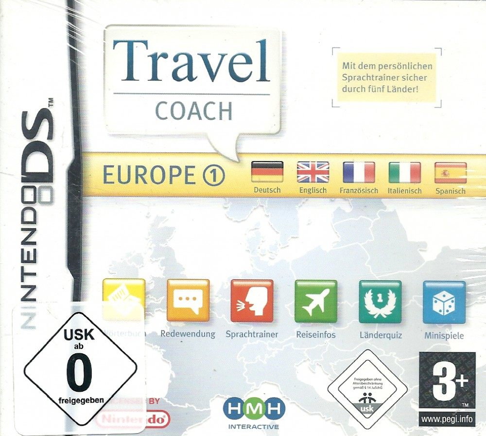 Travel Coach - Europe 1: Reisebegleiter West (NDS)