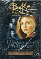 Buffy TCG The Pergamum Prophecy (Starter Hero / Villain)