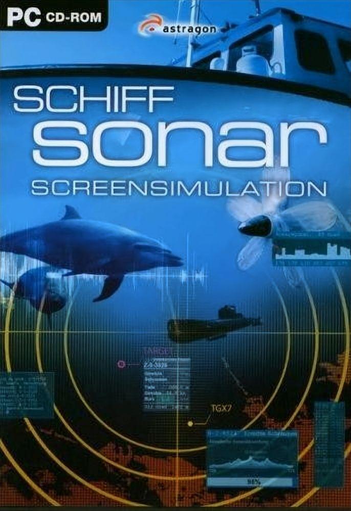 Schiff Sonar - Screensimulation