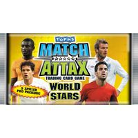 Match Attax World Stars 2010 - ein (1) Booster