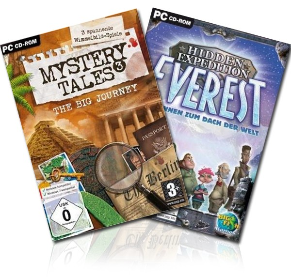 Mystery Tales Collect. - The Big Journey  & Hidden Expedition: Everest