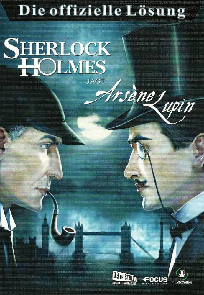 Sherlock Holmes jagt Arsene Lupin Lösungsbuch