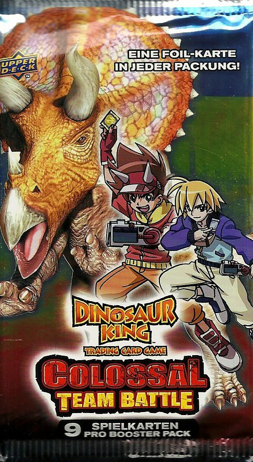DINOSAUR KING Colossal Battle Team Booster