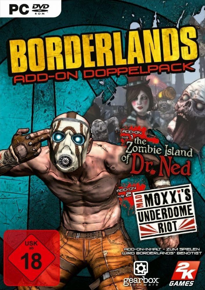 Borderlands Add-On Doppelpack (dt.)