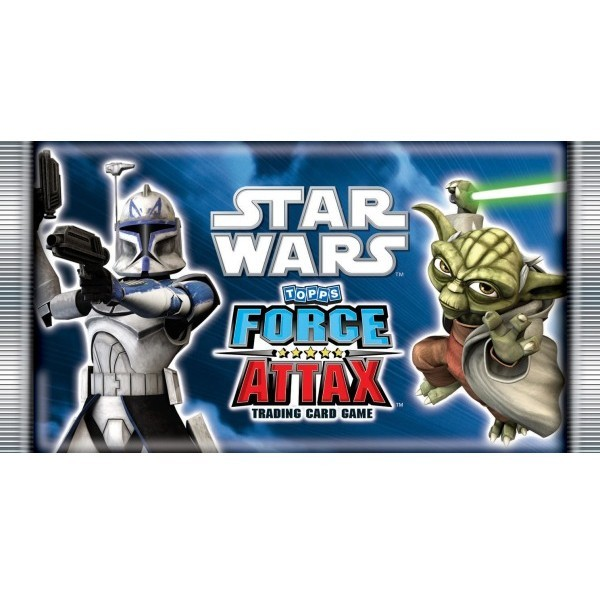 Force Attax Star Wars Trading Card Booster (englisch)