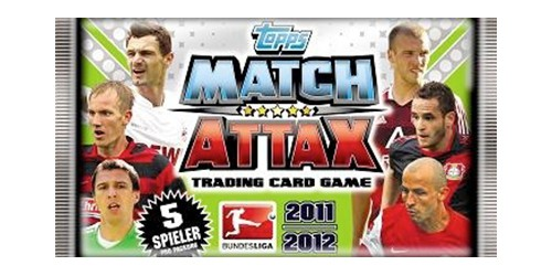 Match Attax Booster SAISON 11/12