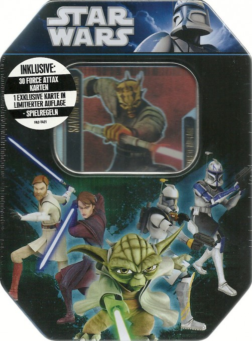Star Wars Force Attax Serie 2 - Tin Box