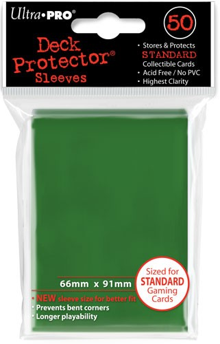 Deck Protectors Matrix Green (50 ct.)
