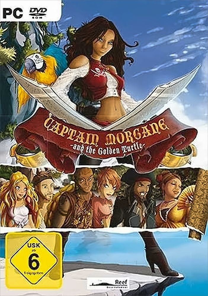 Captain Morgane And The Golden Turtle
