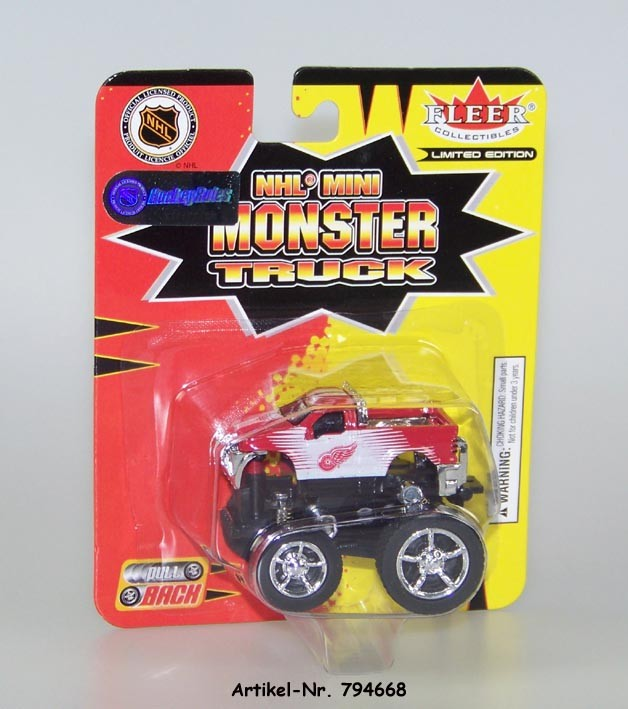 2005 NHL Monster Truck Detroit Red Wings