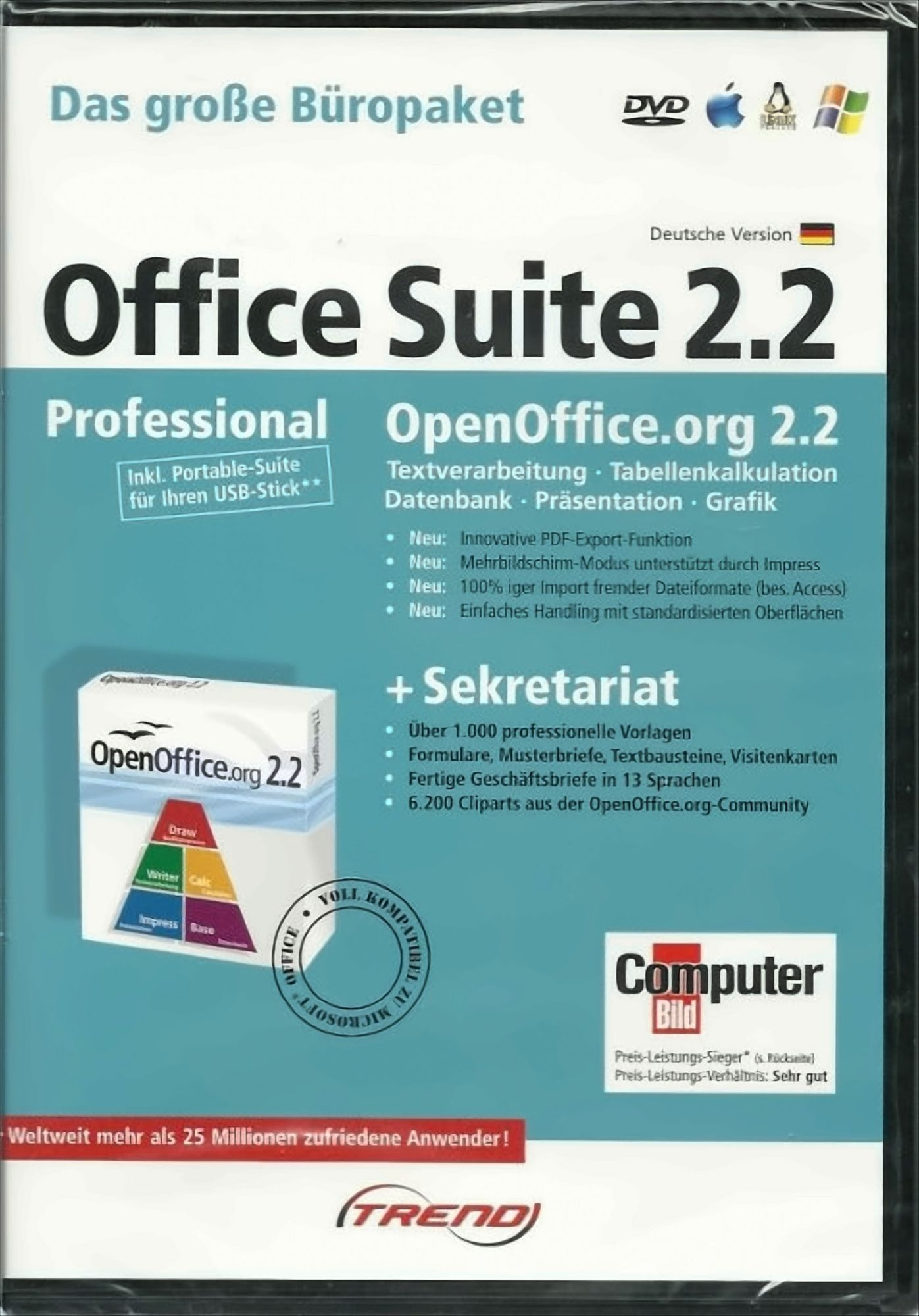Open Office Professional Suite 2.2