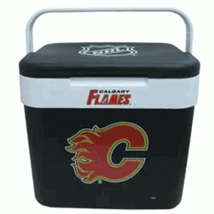 nhl calgary flames 10 liter k hlbox game world shop. Black Bedroom Furniture Sets. Home Design Ideas