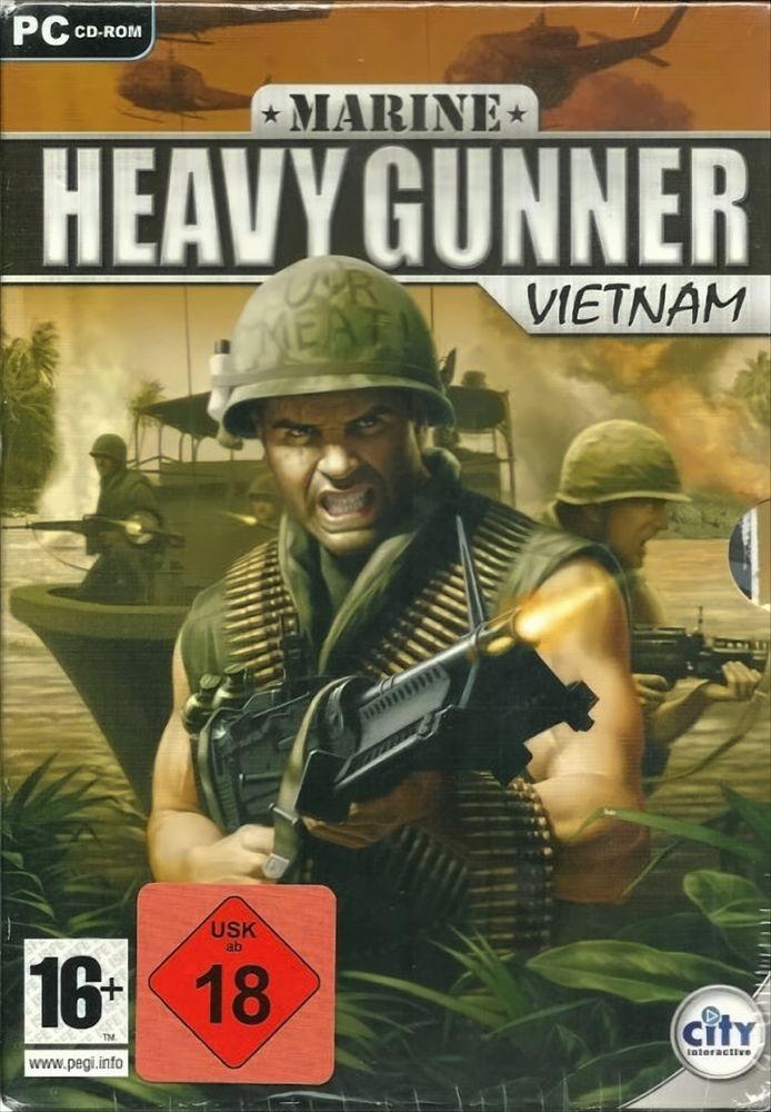 Marine Heavy Gunner - Vietnam