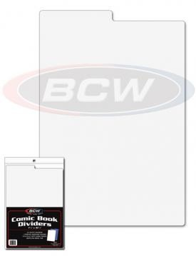 BCW Comic Book Dividers white (25 ct.)