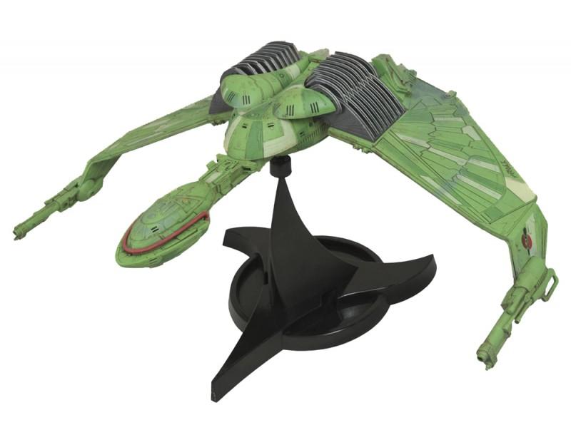 Star Trek Klingon Bird-of-Prey 29x45 cm Raumschiff