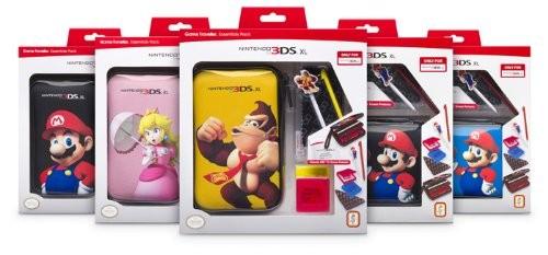 3DSXL Pack Mario  (versch. Motive) farblich sortiert