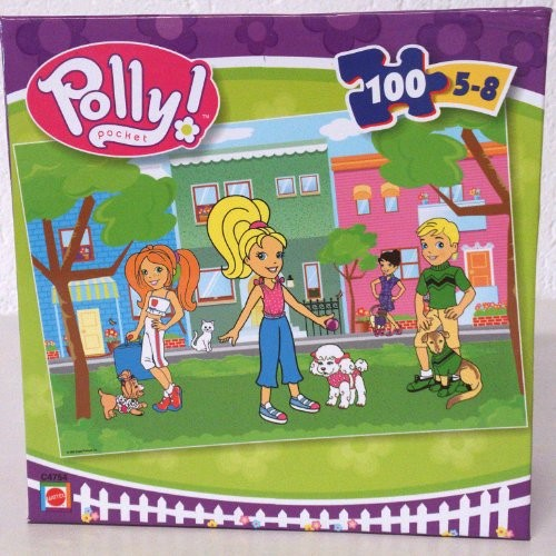 Polly Pocket Puzzle 100 Teile