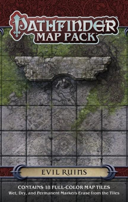 Pathfinder: GM Map Pack - Evil Ruins