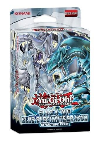 Yu-Gi-Oh Structure Deck - Saga of Blue-Eyes White Dragon