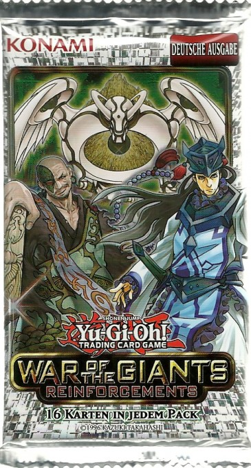 Yu-Gi-Oh! War of the Giants Reinforcements Booster
