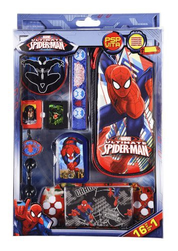 Spiderman Ultimate Zubehör Set 16in1 für Sony PSP/ PSVita